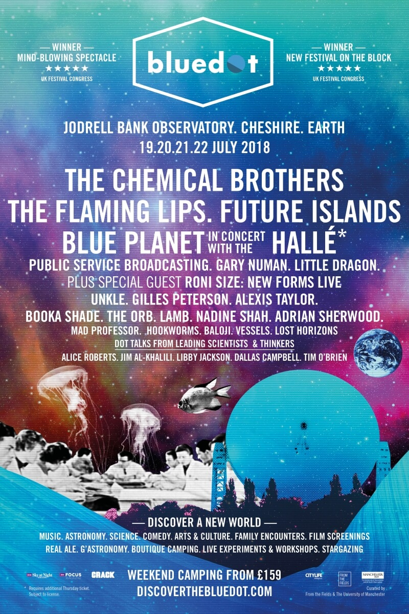 bluedot 2018 Line-up Announced