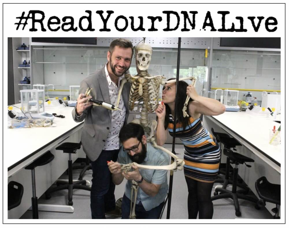 Science Show: Read your DNA live!