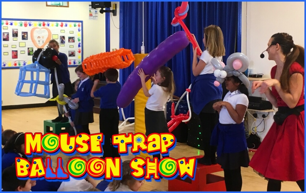 Science Show: Mousetrap Balloon Show