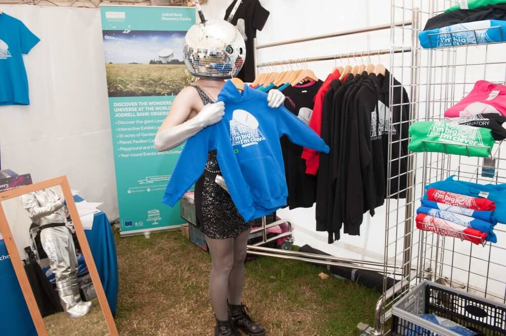 Jodrell Bank Discovery Centre Festival Pop-Up