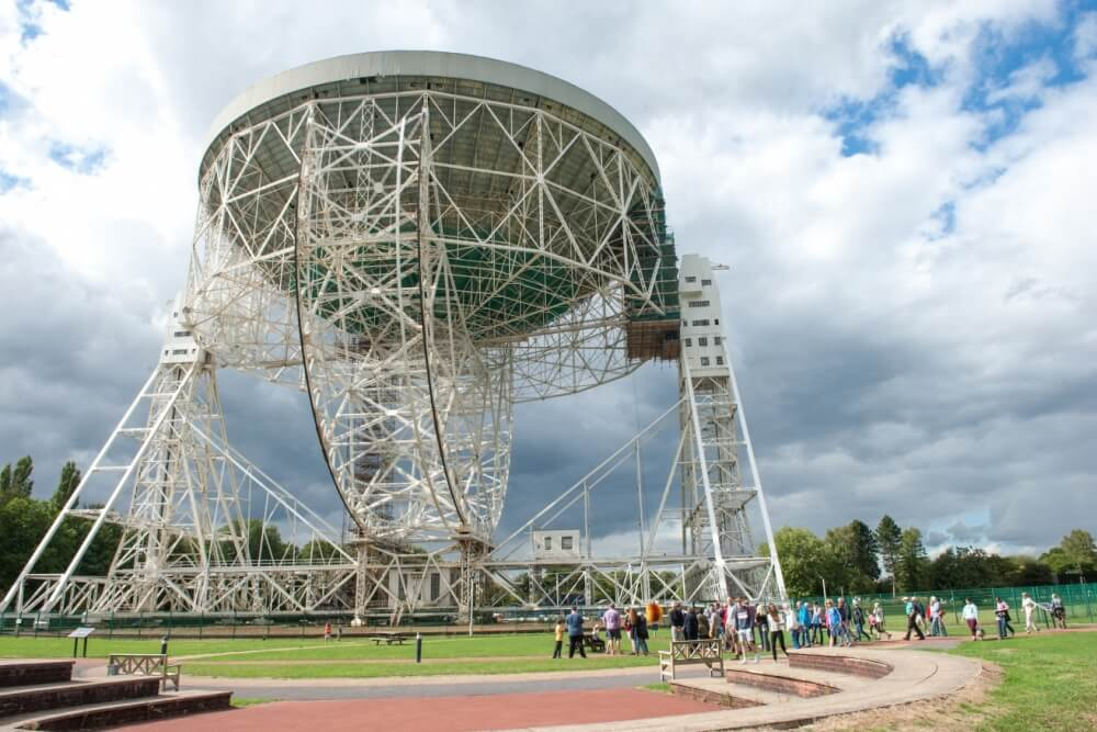Lovell Telescope Walking Tour
