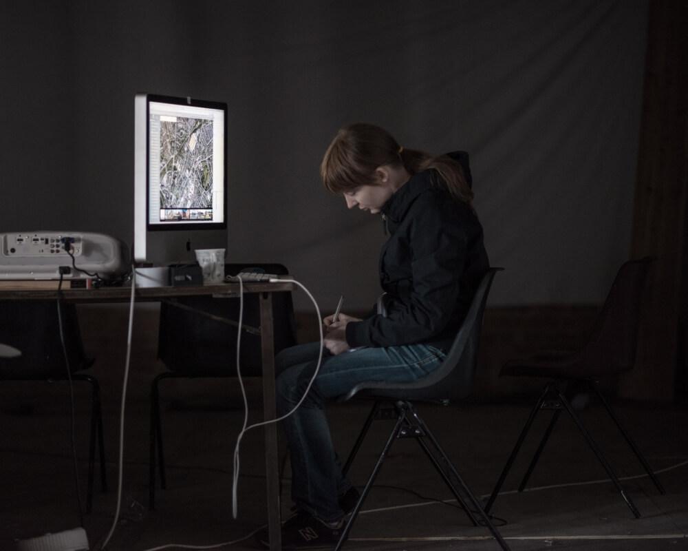 Dawn Scarfe, 'Bee Strings' // Audible Silence Series